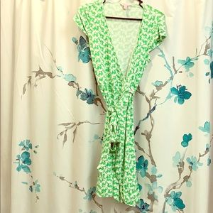 Lily Pulitzer Green Wrap dress ✨